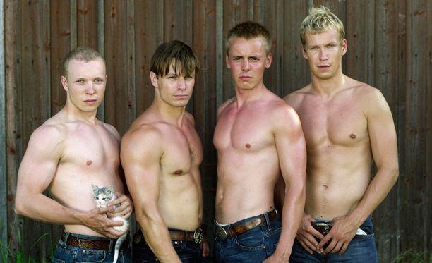Pahat pojat -elokuvan veljeksinä nähtiin Lauri Nurkse, Peter Franzén, Jasper Pääkkönen ja Niko Saarela.