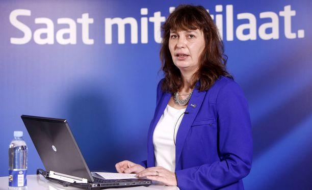 Kansanedustaja Matti Torvisen mukaan muun maussa perussuomalaisten puoluesihteeri Riikka Slunga-Poutsalo on ollut masinoimassa järjestelyä. Arkistokuva.