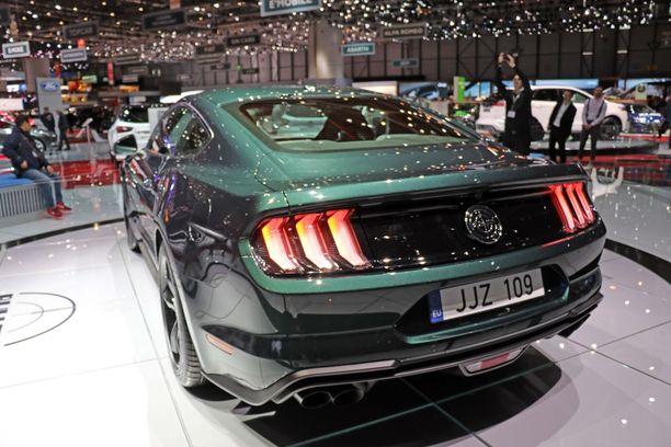 Uuden Mustangin takavaloista ei voi erehtyä.