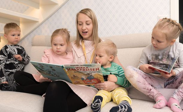 Stellan perhepäivähoidossa niin lasten kuin vanhempienkin on helpompi nauttia perheen arjesta.