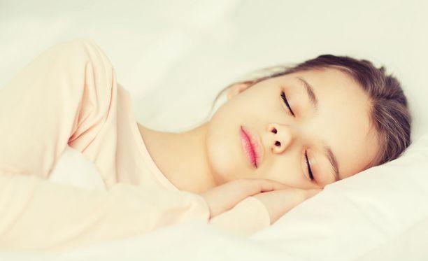 Helsinkiläiskoulussa luokka nukkuu joka päivä lyhyet päiväunet. (Kuvituskuva.)