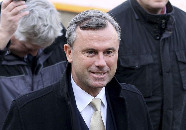 Norbert Hofer sai valituksensa ansiosta uudet vaalit.