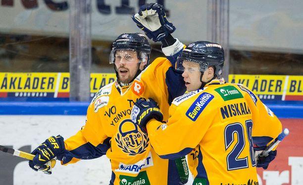 Toni Koivisto iski Lukon voiton päähän finaalista.