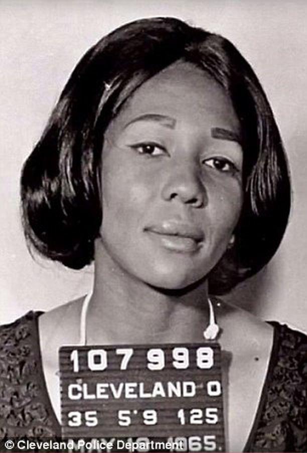Doris Paynen pidätyskuva vuodelta 1965.