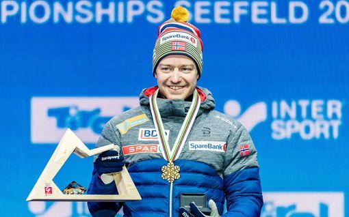 """Maailmanmestaruutta puolustava norjalaistähti ottaa riskin – jäänee paitsi esikoisensa syntymästä MM-kisojen takia: """"Rankkaa"""""""