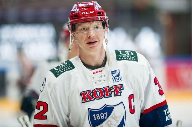 Lennart Petrellin 1-0-maali avauserän lopulla jäi HIFK:n voittomaaliksi.