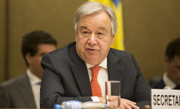 YK:n pääsihteeri Antonio Guterres on pettynyt turvallisuusneuvoston kykenemättömyyteen päästä sopuun Syyrian tilannetta koskevasta päätöslauselmasta.