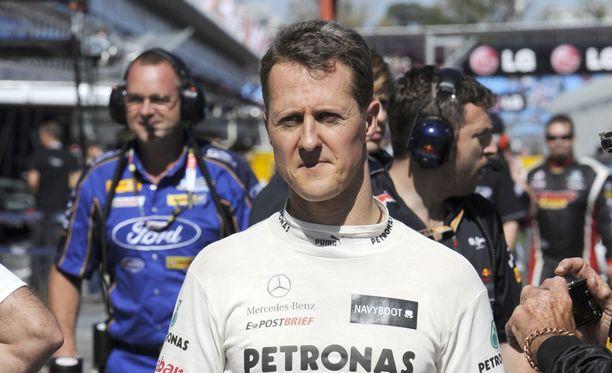 Michael Schumacher on tienannut kaikkiaan miljardi dollaria.