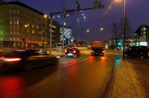 Tältä näytti joulukuinen aamu Helsingissä 2016, kun La Niña -ilmiö oli meneillään pohjoisella pallonpuoliskolla.