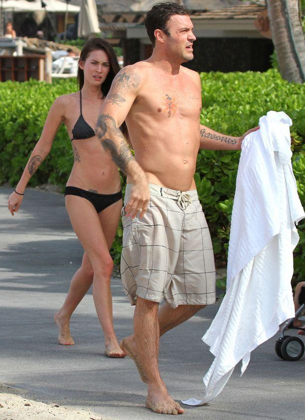 Megan ja Brian Austin Green ovat edelleen kuin vastarakastuneita.