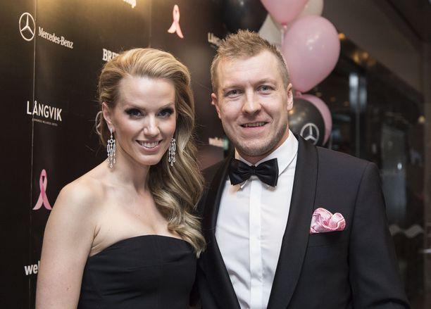 Piritta ja Niklas Hagman olivat naimisissa 12 vuotta.