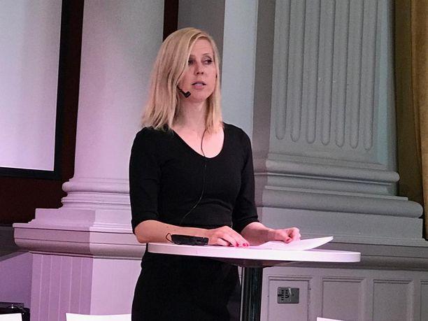 Jessikka Aroa kuultiin Helsingin käräjäoikeudessa kesällä 2018, nyt häntä kuullaan hovioikeudessa.