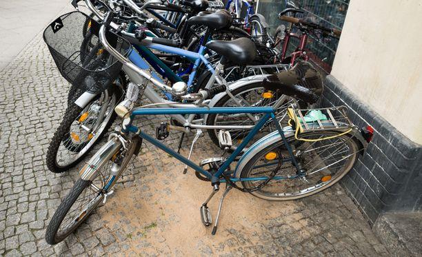 Pyörävarkaudet painottuvat viikonloppuihin ja ilta-aikaan.