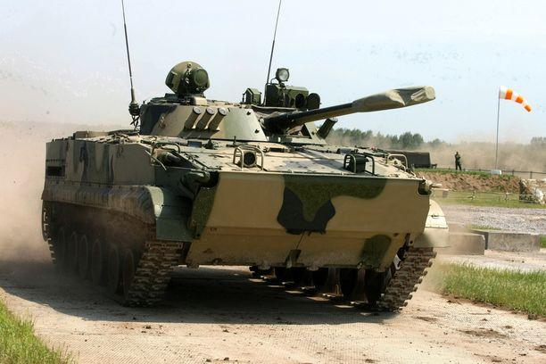 BMP-3-mallinen panssarivaunu. Arkistokuva.