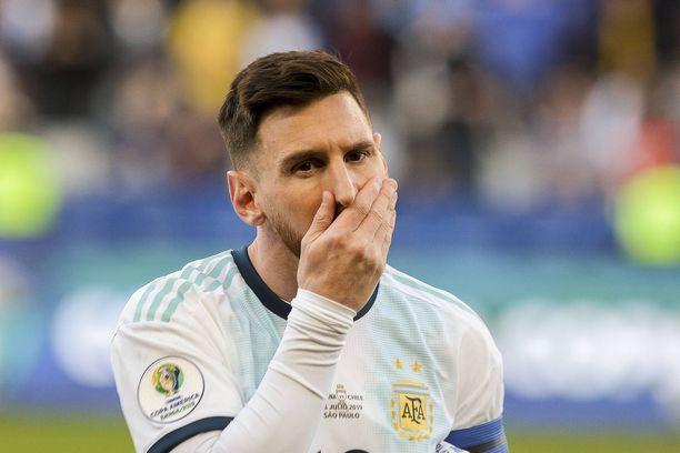 Lionel Messin mukaan Brasilia on Copa Américan varma mestari.