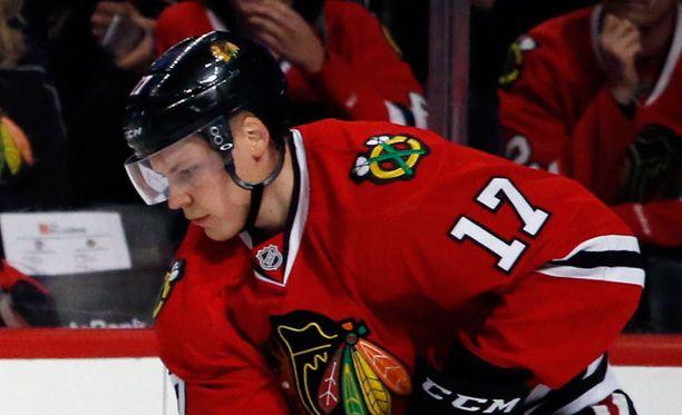 Ville Pokalla on vaikeuksia saada NHL-uraa kunnolla vauhtiin.