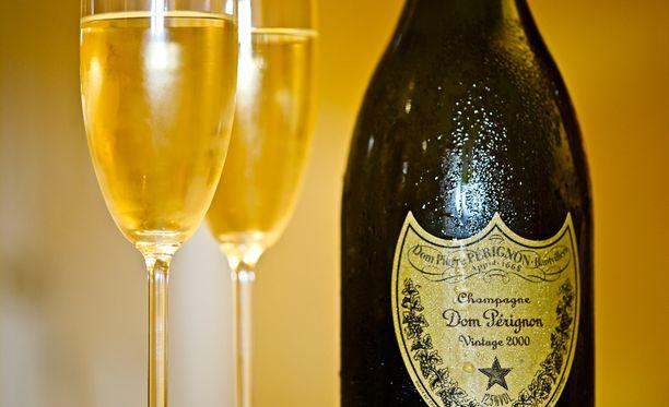Dom Perignon -samppanjaa saa pian Tampereelta.
