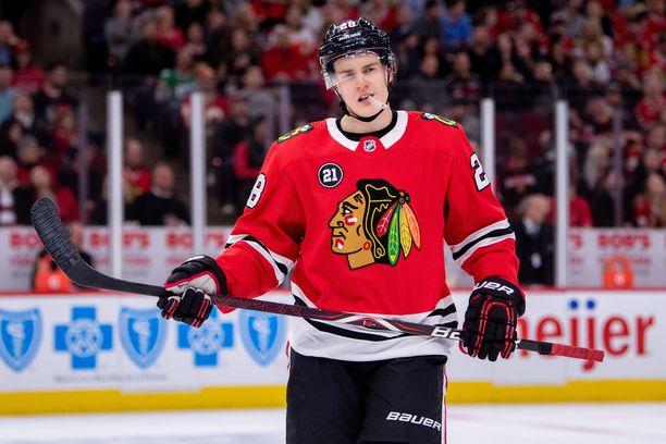 Henri Jokiharju on Suomen toistaiseksi ainoa NHL-vahvistus nuorten kisoihin.