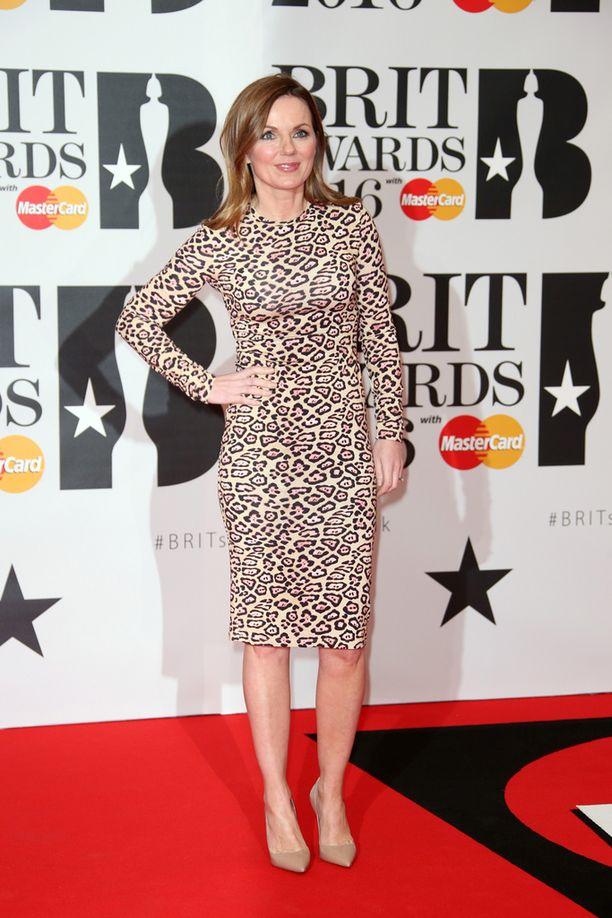 Spice Girls -yhtyeestä tuttu Geri Horner.