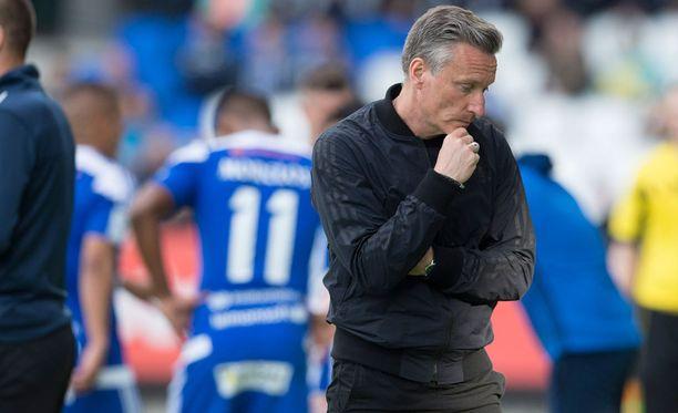 Sixten Boströmin aika SJK:ssa kesti vain kolmisen kuukautta.