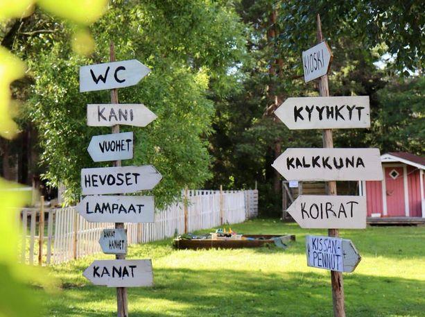 Sallinen perusti omalle kotipihalleen Siikajoenkylän Martikkalaan kotieläinpihan, joka avasi ovensa kaksi viikkoa sitten.