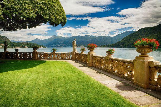 Como-järven maisemat nähtiin Episodi II:n romanttisessa hääkohtauksessa.