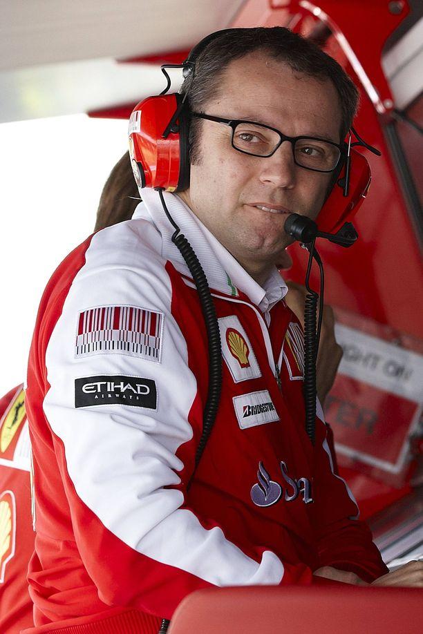 Stefano Domenicali johti Ferrari 2008–2014.