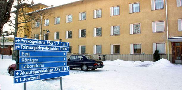 Pakkohoitoon määrätty nainen sytytti tulipalon Pitkäniemen sairaalan akuuttipsykiatrian osastolla viime vuoden tammikuussa.