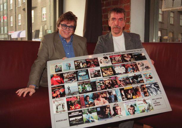 Mikko Alatalo ja Harri Rinne vuonna 1997.