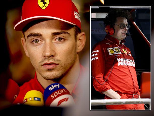 Charles Leclercin viimeinen veto jäi Abu Dhabissa piippuun. Mattia Binotton johtamassa Ferrari-tallissa täytyy tapahtua talven aikana suuri muutos, jos italialaiset haluavat haaveilla MM-tittelistä 2020.