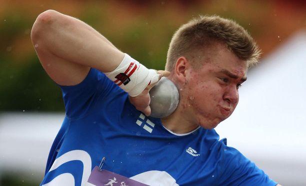 Arttu Kankaalla ei ollut asiaa kuulafinaaliin EM-kisoissa.