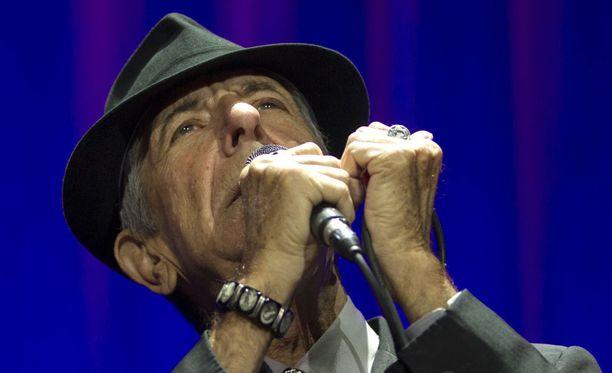 Leonard Cohen on vaikuttanut musiikkimaailmassa jopa 50 vuoden ajan.
