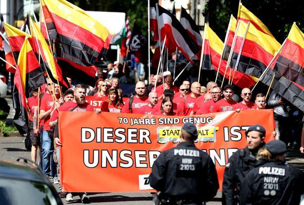 Toukokuussa Dortmundissa Saksassa järjestettiin äärioikeiston mielenosoitus.