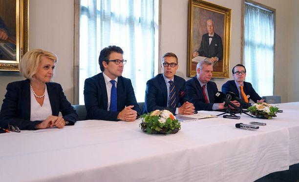 STT:n tietojen mukaan Natoa saatetaan käsitellä ulko-, turvallisuus- ja puolustuspolitiikkaa käsittelevässä osuudessa.