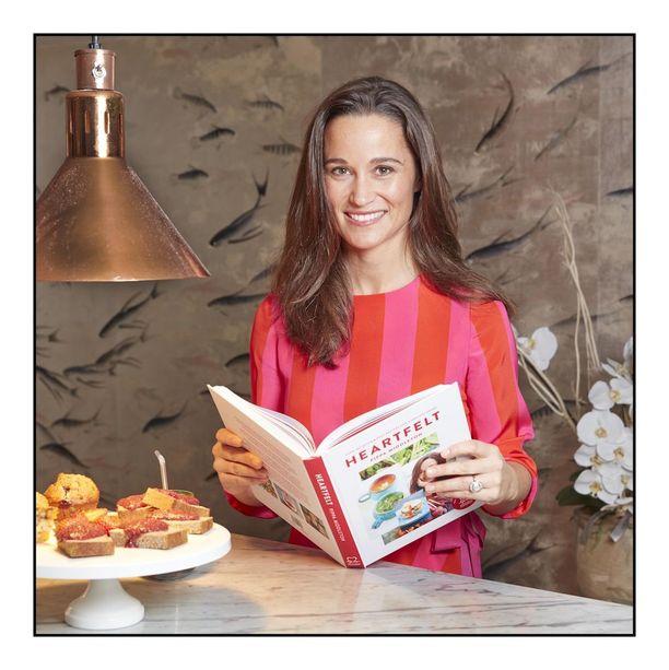 Pippa on tehnyt hyväntekeväisyyttä muun muassa kirjoittamalla sydänterveyttä edistävälle järjestölle keittokirjan. Viime syksynä julkaistun kirjan tuotto menee yhdistyksen hyväksi.