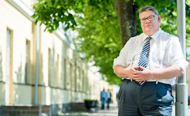 Timo Soini sanoo oman vaimonsa olevan tasapainoinen.