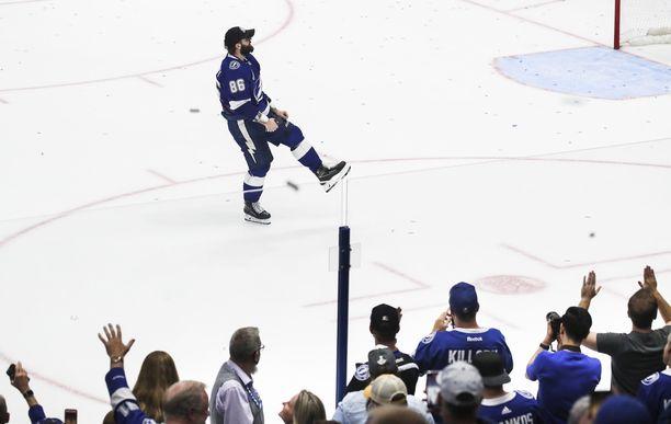 Nikita Kutsherov oli olennainen palanen Tampa Bay Lightningin mestaruuspalapelissä.