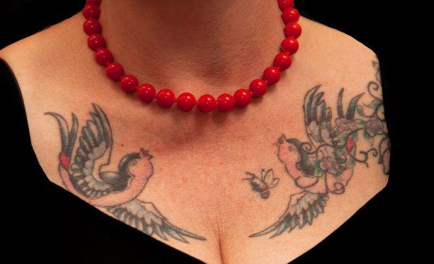 Suomalaisista 20-30-vuotiaista noin 15 prosentilla on tatuointi.