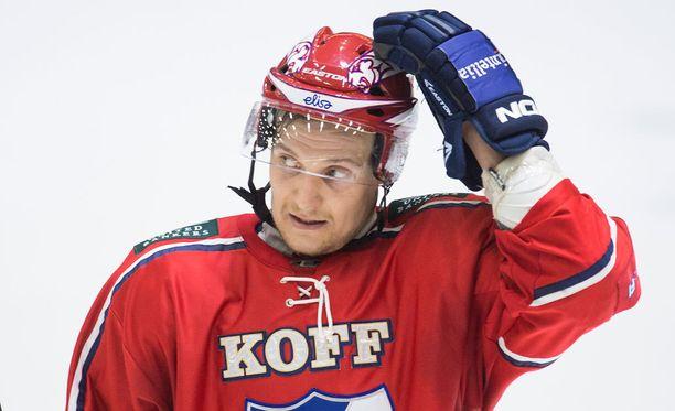 Lauri Taipalus löi itsensä läpi Liigassa viime kaudella.