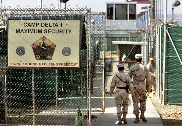 Guantanamon vankilassa istuu tällä hetkellä satakunta vankia.