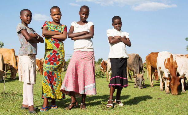 Muun muassa nämä tytöt uhmasivat heimojensa perinnettä ja pakenivat vanhemmiltaan säästyäkseen sukupuolielintensä silpomiselta.