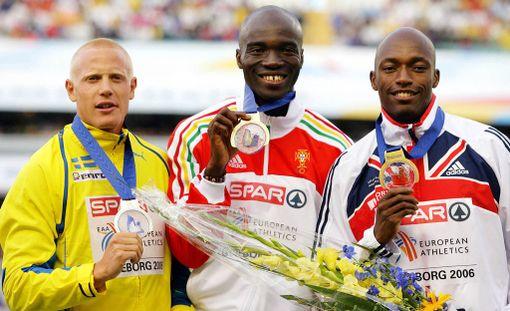 Johan Wissman voitti hopeaa 200 metrillä vuoden 2006 EM-kisoissa Göteborgissa. Kultaa juhli Portugalin Francis Obikwelu ja pronssia Ison-Britannian Marlon Devonish.