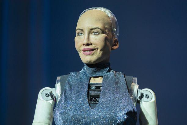 Tältä näyttää Sophie, maailman kenties ihmismäisin robotti.