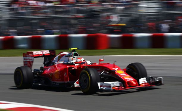 Kimi Räikkönen on mukana aika-ajojen toisessa osiossa.