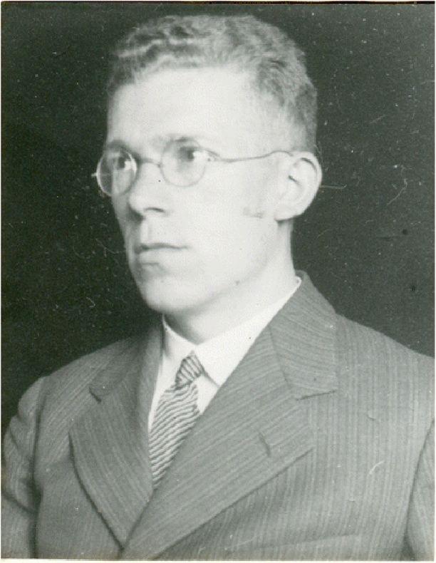 Hans Asperger noin vuonna 1940 otetussa kuvassa.