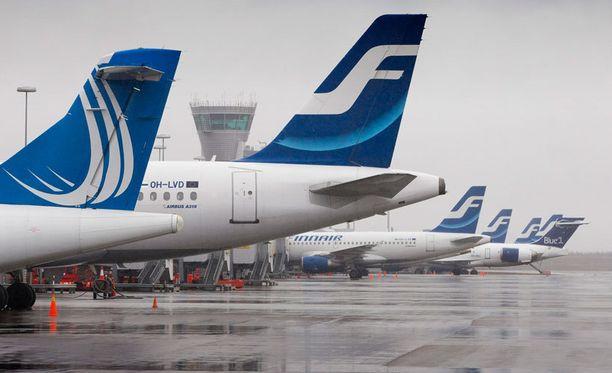 Finnairilla lennetään, vaikka lennon numero ja päivämäärä eivät lupaa hyvää.