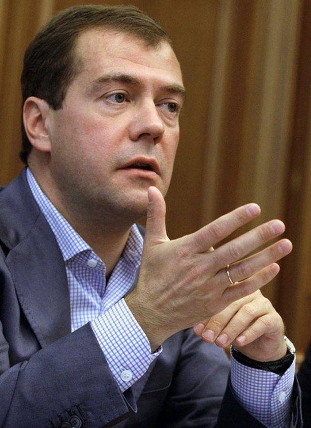 Venäjän presidentti Dmitri Medvedev pitää selvänä, että Venäjän talouden tulevaisuus vaatii rakennemuutoksia.
