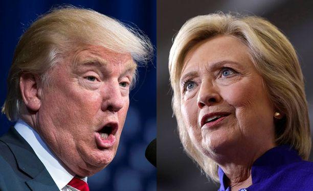 Trump ja Clinton kohtaavat tänään ensimmäisessä vaaliväittelyssä.