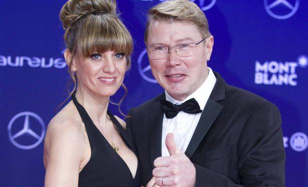 Marketa ja Mika Häkkinen tuovat Linnaan tuulahduksen Monacosta.