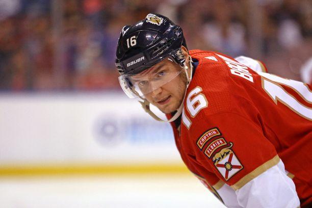 Florida Panthersin Aleksander Barkov on tällä hetkellä uskomattomassa vireessä.
